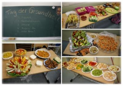 """Vorschaubild zur Meldung: Projekttag """"Gesunde Ernährung"""""""