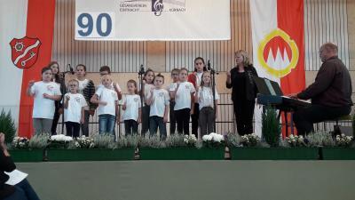 Foto zur Meldung: Kinderchortreffen in Kürnach