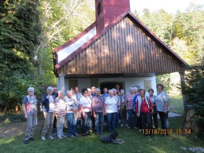 Foto zur Meldung: Der Frauen- und Mütterverein fuhr in die Gegend von Schwarzach