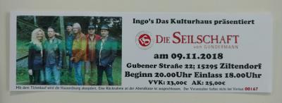 """Konzert """"Die Seilschaft"""" - Kartenvorverkauf"""