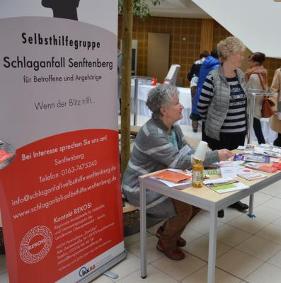 Vorschaubild zur Meldung: Weltschlaganfalltag – Schlaganfallselbsthilfegruppe informiert im Klinikum Niederlausitz