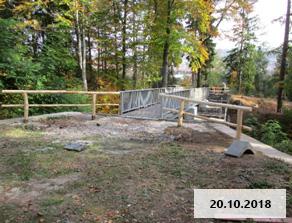 """Foto zur Meldung: Nach 10 Jahren Sperrung - Wiedereinweihung der """"Viehbrücke"""" Gräfenroda als Fußgängerbrücke"""