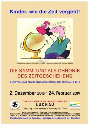 Plakat zur Ausstellung - Motiv von Manfred Bofinger
