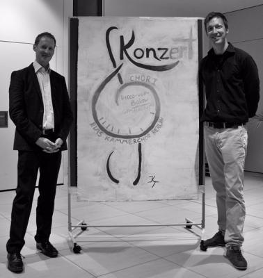 Vorschaubild zur Meldung: Auftaktveranstaltung des Chor I und dem RIAS Kammerchor Berlin