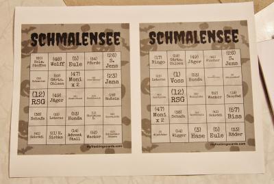 Foto zur Meldung: Schmalensee-Bingo beim Schmalenseer Bingo