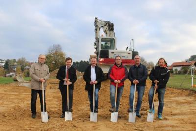 Foto zu Meldung: In Moosbach werden 10 neue Häuser gebaut
