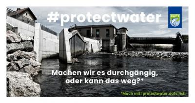 Foto zur Meldung: # PROTECTWATER  Jeder Klick zählt!