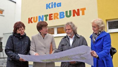 """Foto zur Meldung: """"Kita Kunterbunt"""" freut sich über kräftige Finanzspritze"""