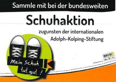 Vorschaubild zur Meldung: Schuhaktion Kolping
