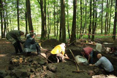Vorschaubild zur Meldung: Grabungen am Eisenberg bei Steinau abgeschlossen