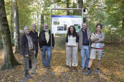 Die Förderer der Klosterruine Hanau-Wolfgang
