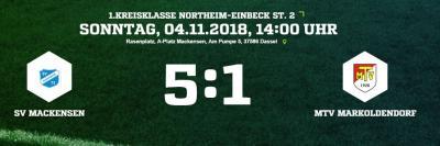 Vorschaubild zur Meldung: Fußball: Mit einem 5:1-Sieg in die Winterpause