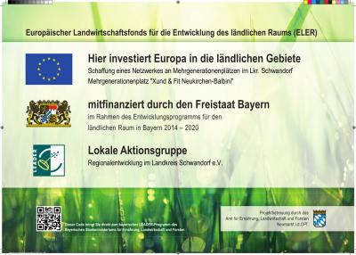 """Vorschaubild zur Meldung: LEADER-Projekt Mehrgenerationenplatz """"Xund & Fit Neukirchen-Balbini"""""""