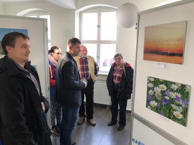 Vorschaubild zur Meldung: Fotoausstellung über den Naturpark im Foyer Rathaus
