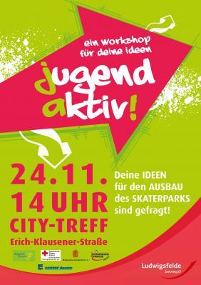 Vorschaubild zur Meldung: Aktive Jugend stellt Ideen rund um den Skatepark vor