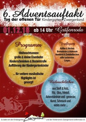 Foto zur Meldung: 6. Adventsauftakt & Tag der offenen Tür - Kindergarten Zwergenland