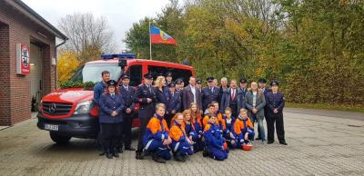 Vorschaubild zur Meldung: Neues TSF/MZF für die Freiwillige Feuerwehr Wangerooge
