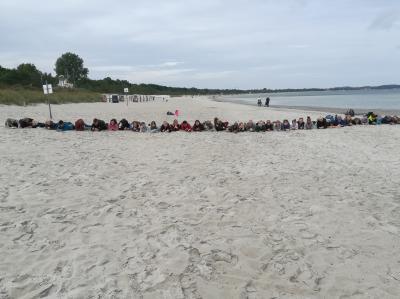 Foto zur Meldung: Klassenfahrt der 7. Klassen nach Boltenhagen