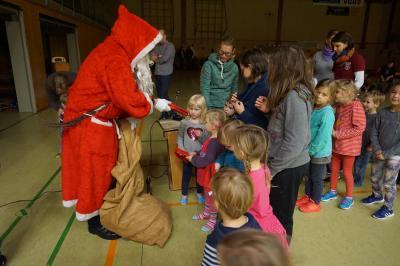 Im letzten Jahr kam auch der Weihnachtsmann zum MTV-Winterfest