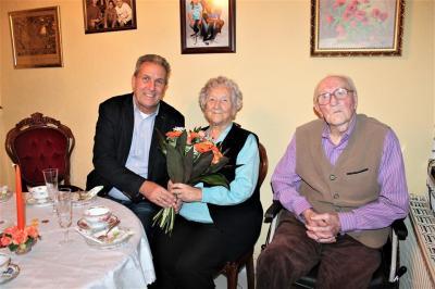 Foto zur Meldung: Seit 70 Jahren ein Paar