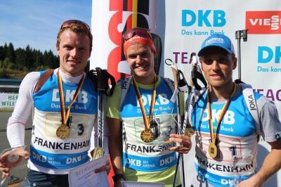 Foto zur Meldung: Deutsche Meisterschaft Biathlon Oberhof
