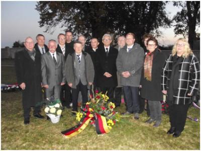 Foto zur Meldung: Gedenkfeier zum hundertersten Jahrestag  des Endes des ersten Weltkrieges in Vouziers/Ardennen/Frankreich