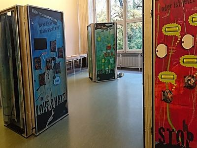 """Vorschaubild zur Meldung: Ausstellung """"Echt krass"""" am TGSBBZ Saarlouis"""