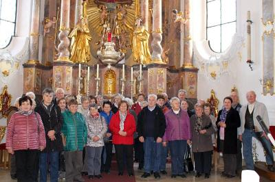 Foto zur Meldung: Herbstausflug der Senioren in den niederbayerischen Landkreis Deggendorf