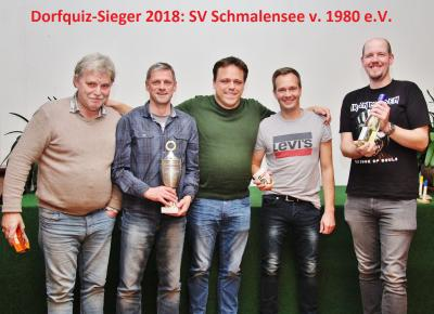 Gerhard Frank, Henning Pape, Christoper Brust, Frank Mühlenberg und Finn-Lasse Storm