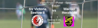 Vorschaubild zur Meldung: Halb-Finale-Einzug der 2.Frauenmannschaft