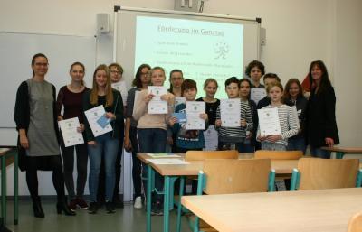 Foto zur Meldung: Mathematik-Schulolympiade 2018