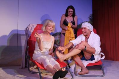Foto zur Meldung: Haallicht-Theater spielt im Utspann