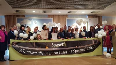 """Foto zur Meldung: Der ganze Spreewald freut sich über das """"Q"""""""