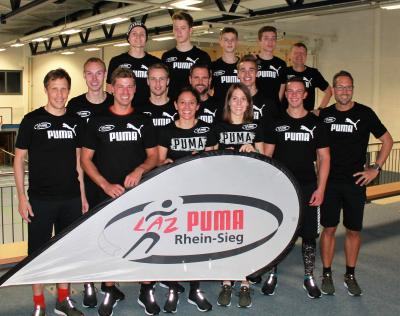 """Vorschaubild zur Meldung: Sportler des LAZ Puma Rhein-Sieg unterstützen den RTL Spendenmarathon """"Wir helfen Kindern"""""""