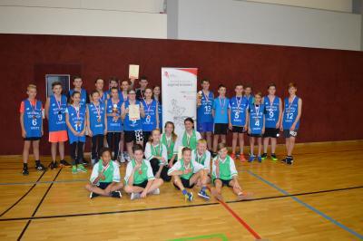 Foto zur Meldung: Jugend trainiert-Kreisfinale Basketball WK III + WK IV