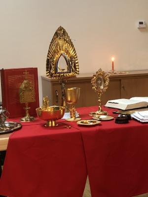 Foto zur Meldung: Vom Zauber und Geheimnis der Liturgie