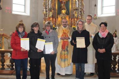 Foto zur Meldung: Am Christkönigsfest auch der Hl. Cäcilie gedacht