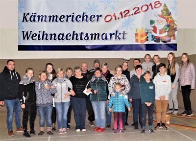 Foto zur Meldung: 12. Kämmericher Weihnachtsmarkt