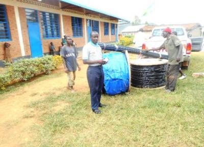 Vorschaubild zur Meldung: Stromversorgung für die Primarschule Murambi