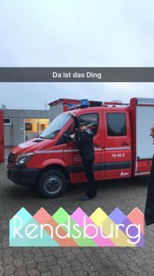Foto zur Meldung: Neues Auto für die Freiwillige Feuerwehr Bühren