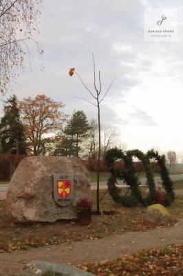 Foto zur Meldung: Segen und Gebet für die neugepflanzte Linde zum 800. Geburtstag Sültes