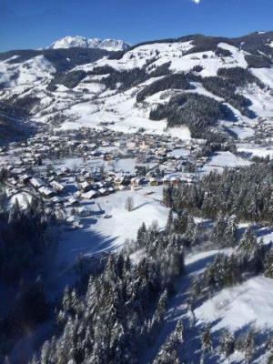 Blick auf Alpendorf