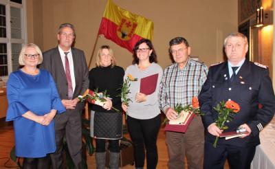 Foto zur Meldung: Gelungene Feierstunde für Ehrenamtliche im Malchiner Rathaussaal