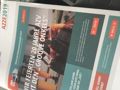 "Abfallzeitung ""AZZE 2019"""