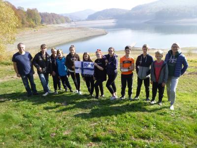 Vorschaubild zur Meldung: Siebte Herbstausbildung der Ruder AG auf der Hennetalsperre im Hochsauerlandkreis
