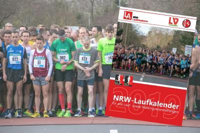 NRW-Laufkalender 2019 ab sofort erhältlich