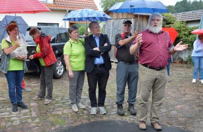 Vorschaubild zur Meldung: Bezirkslandfrauen Gelnhausen besuchen Schafhof