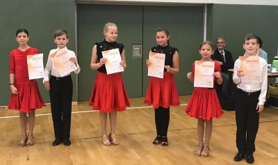 Vorschaubild zur Meldung: Tanzsport: Zum zweiten Mal erfolgreiche Prüfung