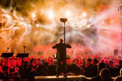 """Vorschaubild zur Meldung: Heimattage 2018 - Carmina Burana: """"Grandioses Klangereignis"""""""
