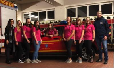 Foto zur Meldung: Sparkasse fördert Jugendarbeit der Feuerwehr Vierkirchen